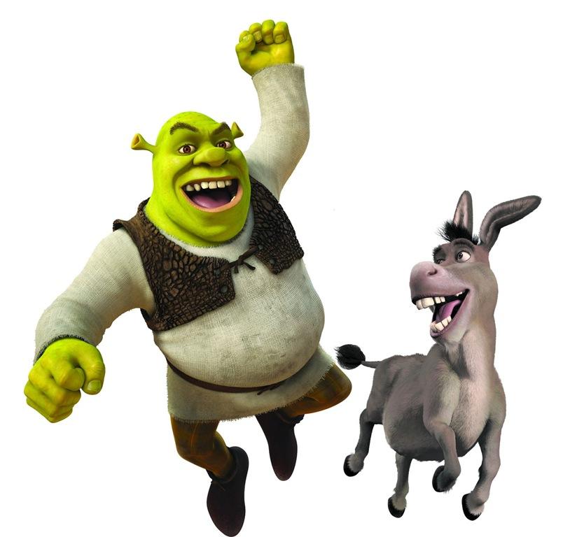 Xbox 360 Logo Png White Shrek Angry At Donkey ...