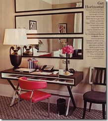 stacked floor length mirrors